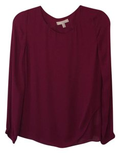 Banana Republic Top raspberry