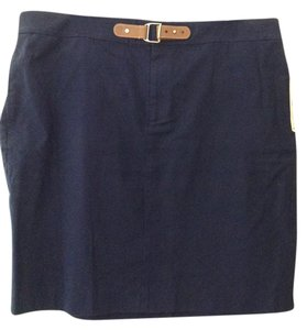 Lauren Ralph Lauren Skirt Navy Blue