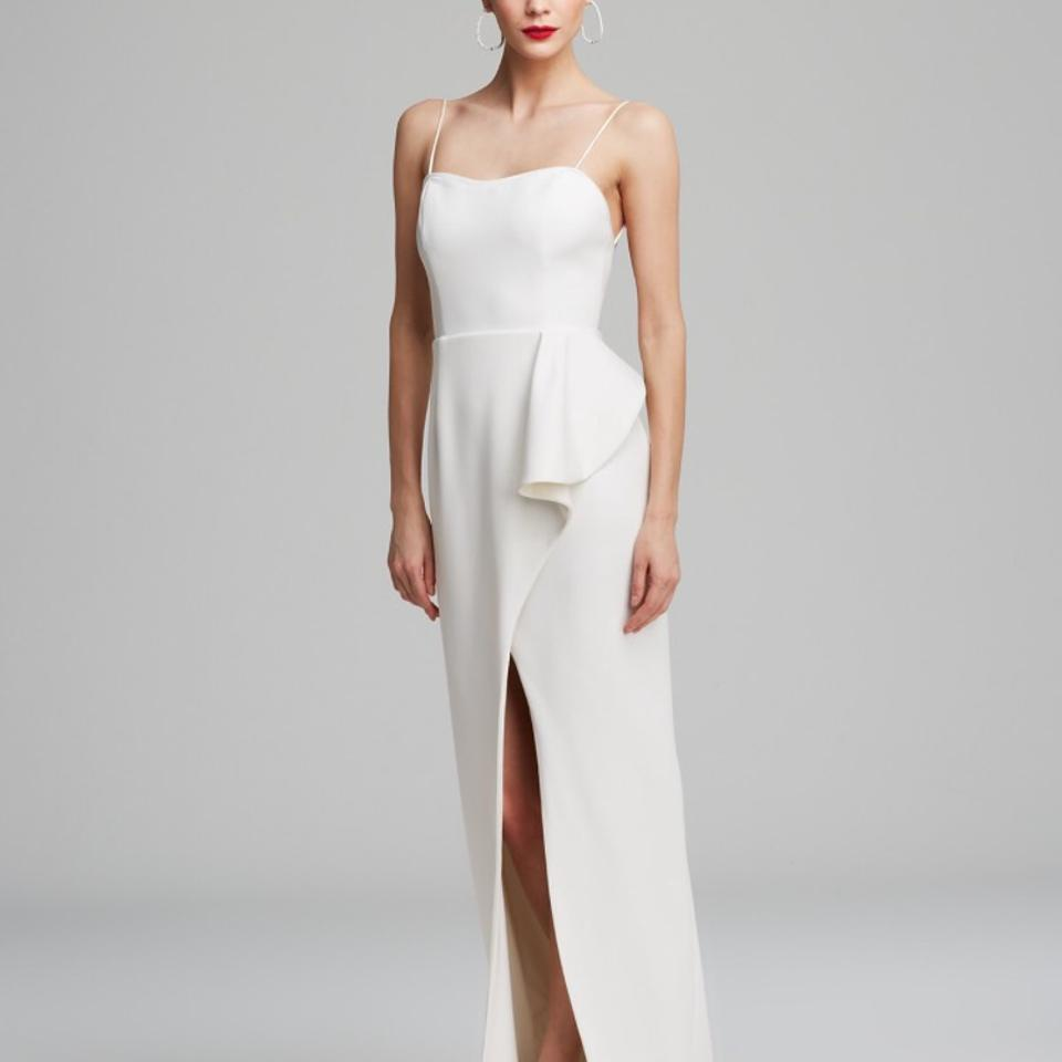 Black Halo White Eminence Gown Modern Wedding Dress Size 2 (XS ...