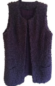 W by Worth Boucle Sheep Lamb Wool Textured Vest