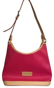 Dooney & Bourke & Coated Canvas Pink Handbag Shoulder Bag