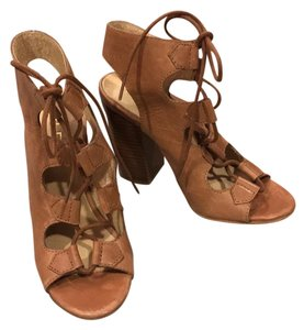 ALDO Caramel Wedges