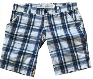 Hollister Bermuda Shorts blue, white