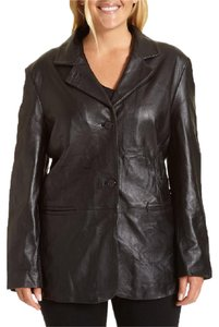 Giorgio Armani GIORGIO ARMANI GENUINE LEATHER NEW JACKET with Great Quality Design