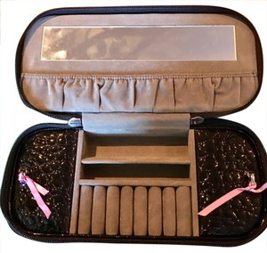 Other Black Patent Travel Jewelry Case