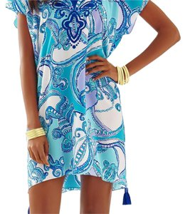 Lilly Pulitzer short dress Searulean Blue on Tradesy