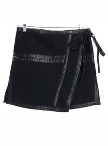 Proenza Schouler Proenza Mini Quilted Lamb Mini Skirt Black