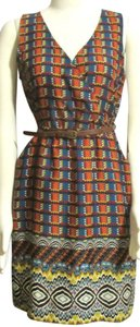 Uncle Frank short dress Oranges, Blues, Red etc, New Unique on Tradesy
