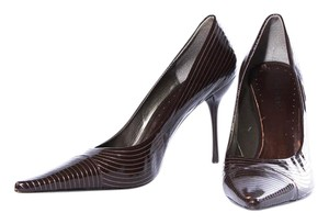 BCBGeneration Bcbgirls Pointed Toe Slip On Mahogany Brown Pumps