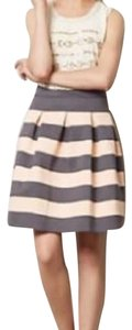 Anthropologie Skirt pink and gray