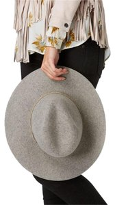 93e9220828929 Rag   Bone Grey Oxford Wide Brim Wool Fedora Sold Out Hat - Tradesy