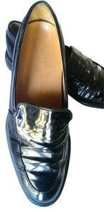 Tod's Patent Leather Black Flats