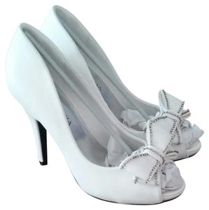 Lasonia Shoes White Wet Formal