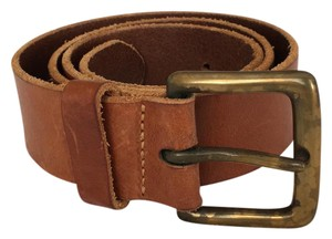 J.Crew j.crew leather belt with brass buckle
