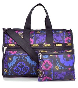 LeSportsac Midnight Flower Patch Travel Bag