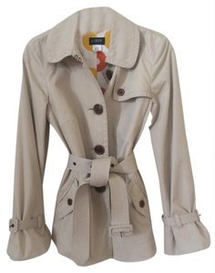 J.Crew Trench Belted Spring Trench Stone Jacket
