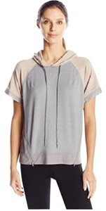 Zobha NWT Ringo Short Sleeve Pullover with Color Blocking and Mesh Contrast