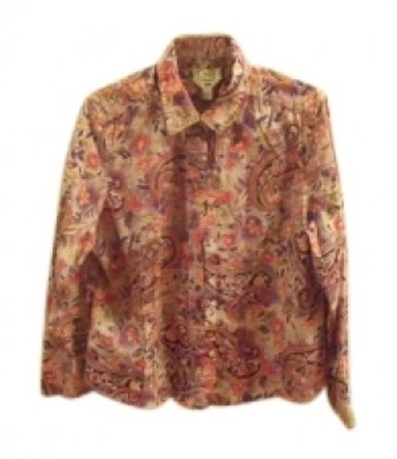 Preload https://img-static.tradesy.com/item/20893/talbots-purple-and-coral-print-long-sleeve-button-down-top-size-12-l-0-0-650-650.jpg
