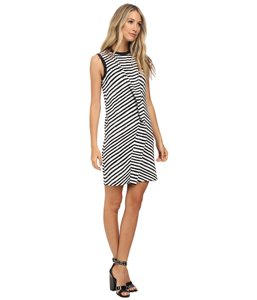 Marc by Marc Jacobs short dress Black Striped Monochrome Shopbop on Tradesy