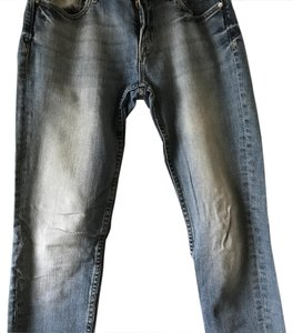 Vigoss Straight Leg Jeans-Medium Wash