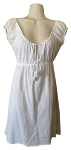 J.Crew short dress ivory Peasant on Tradesy