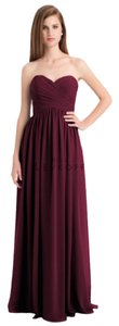 Bill Levkoff Wine Bill Levkoff Style 740 Dress
