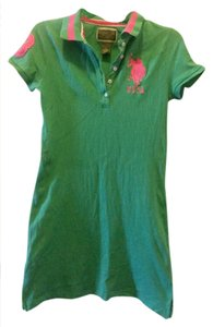 U.S. Polo Assn. short dress Green on Tradesy