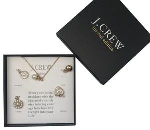 Auth J.crew necklace with pendants limited edition new in box my feelings