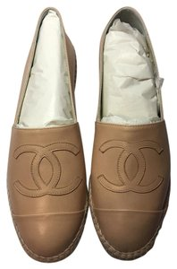 Chanel Nude Flats