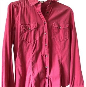 J.Crew Button Down Shirt Coral