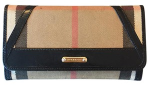 Burberry Classic Check Print Wallet