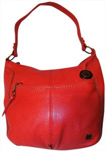 The Sak Bold Classic Leather Bright Hobo Bag