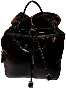 Nine West Bold Classic Faux Patent Sparkle Backpack