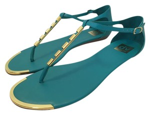 Dolce Vita Gold Mint Stella Sandals