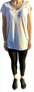 Zella Workout Layering T Shirt White