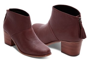 TOMS Oxblood Boots