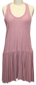 Free People short dress Pink Xsmall Racer-back on Tradesy