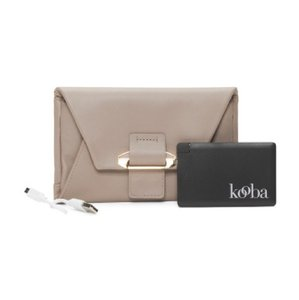 Kooba Lily Leather Wallet with Portable Charger