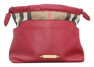 Burberry House Check Leather Cross Body Bag