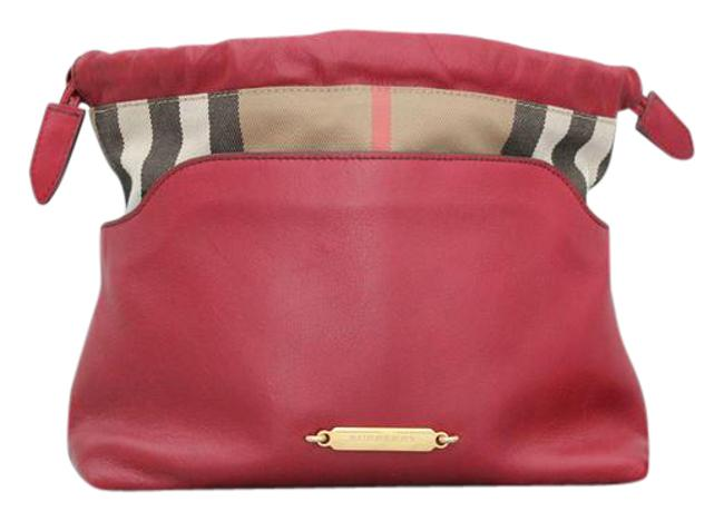 Item - Little Crush Red Leather & Canvas Cross Body Bag