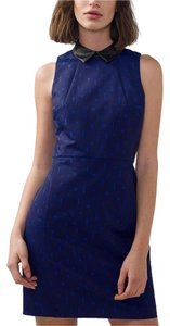A|X Armani Exchange short dress Blue on Tradesy