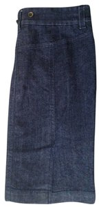 J.Crew Skirt Dark Denim