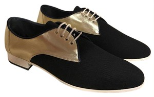 Chanel Runway Loafer Lace Leather black Flats