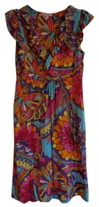 Lilly Pulitzer short dress Multi Color Paisley on Tradesy