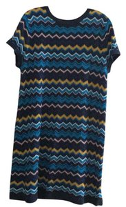 Missoni for Target short dress blue on Tradesy