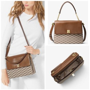 Michael Kors Satchel in Natural