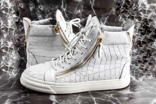 701d7e57c290 Giuseppe Zanotti Croc Embossed High Top Sneakers Shoes - Tradesy
