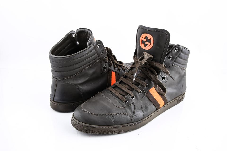 5f46f3e99f5 Gucci   Men s Gg Viaggio Collection High-top Sneaker Shoes Image 0 ...