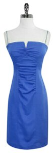 Nicole Miller short dress Blue on Tradesy