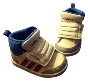 adidas Neo hoop toddler trainers